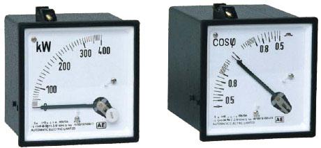 Dynamometric 1ph/3ph Power & Power Factor Meter