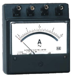 Portable Instrument (DC & AC Ammeters & Voltmeters - Small Size)