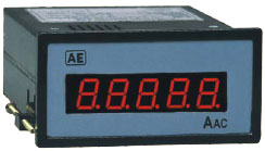 True RMS Digital Panel Ammeters & Voltmeter